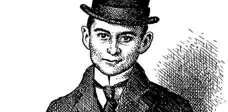Franz Kafka, by Robert crumb
